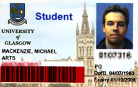 2005 matriculation card