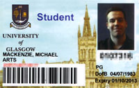 2007 matriculation card