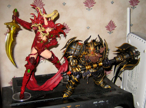 World of Warcraft figures