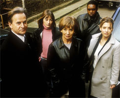 The original Waking the Dead team. From left to right: Boyd, Frankie, Grace, Spence and Mel.